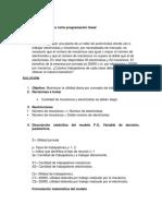 Parcial 2do Corte Programación Lineal