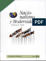 Nacionalismo y Modernidad