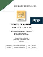 Informe Final Agua 2014
