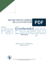 Plan Estrategico Dafp