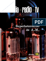 ELECTRÓNICA+RADIO+TV. Tomo V.  Superheterodino de Amplitud Modulada