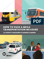 How to Pass a Mega Transportation Measure