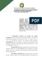 068.09 - seguradora - ace - qbe - brasil telecom - contratação de seguros - representação sde