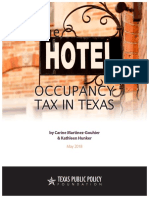 2018 04 RR Hotel Occupancy Tax in Texas CEP MartinezHunker