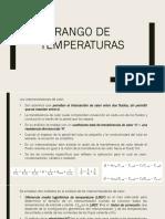 Rango de Temperaturas