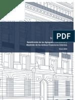Redefinición de los Agregados Monetarios y Medición de los Activos Financieros Internos