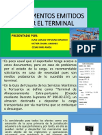 Documentos Emitidos Por El Terminal
