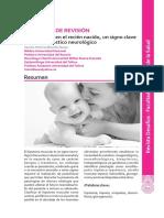 La hipotonía en el recién nacido, un signo clave para el pronóstico neurológico