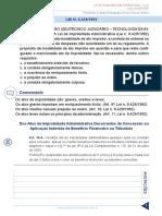 Resumo 195075 Ivan Lucas de Souza Junior 31019985 Lei 8 429 92 Em Exercicios Fcc Aula 01 Lei 8 429 92 (2)