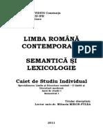 I.5.Limba Romana Contemporana - An I, Sem I - Fulea Mihaela