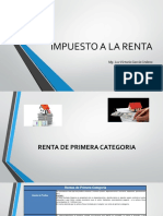 Impuesto a La Renta-primera Categoria