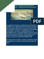 Centro Recreativo Turísitico Ecocultural en Morales Tarapoto