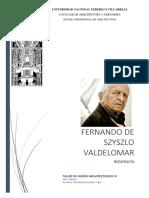 Biografía Fernando De Szyszlo