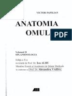 Anatomia Omului v Papilian Vol II PDF