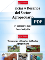 Tendencias y Desafíos Del Sector Agropecuario