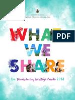 2018 Bermuda Day Booklet
