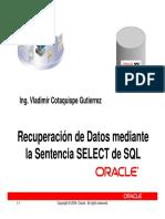 Sentencia DML de SQL