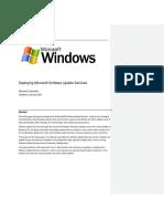 Actualización de Servicios Windows