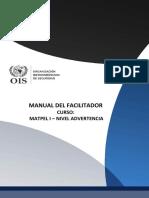Manual Del Facilitador - Meteriales Peligrosos