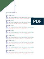 Create Database Publicidad