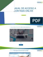 Manual de Acceso Al Contasis Onlive - Cliente Nuevos