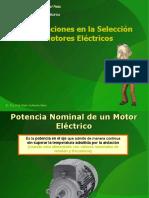 2- Electrotecnica 4ta Parte Selección de Motores