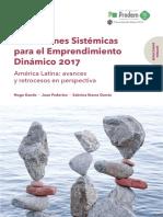 2017 Índice de Condiciones Sistémicas Para El Emprendimiento PRODEM Informe