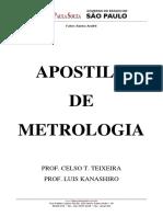 Apostila de Metrologia - Prof Celso e Kanashiro