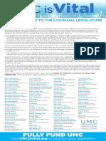 Coalition Letter - UMC is Vital