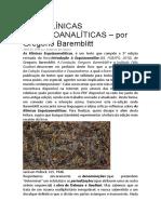 As Klínicas Esquizoanalíticas – Por Gregorio Baremblitt