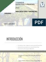 Analisis Madrid Rio de Janeiro