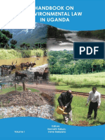Handbook Envronmental Law in Uganda