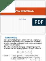 Gaya Sentral