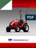 T233HST T273HST Parts Catalog