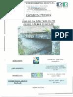 Expertiza pod pe DJ127 km 23+791 peste paraul Sumuleu