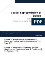 CoE 121 Fourier Representation of Signals