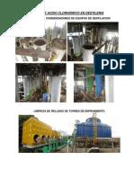 Uso de Acido Clorhidrico en Destileria(Fotos)