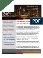 Global Fund Exchange September Newsletter 2010