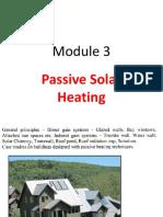 Module 3 Passive Heating 8.3.18