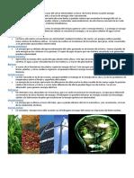 tipos energías renovables