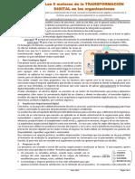 Los 5 Motores de La TRANSFORMACION DIGITAL en Las Organizaciones