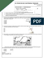 Pre Teste_2º2 Física