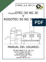 Rodotec 50 Ng 3e y 3e Elite Manualusuario Dic2012