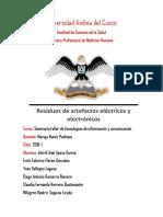 Residuos de Aparatos Eléctricos y Electrónicos