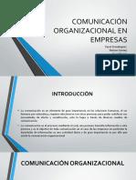 """Comunicaciã""""n Organizacional en Empresas"""