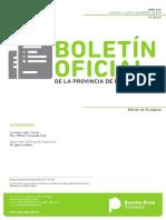 B.O. Dec 34-18 Min. de Jefatura de Gabinete de Ministros (PBA)