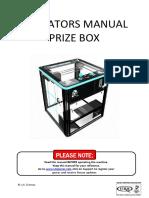 Prize Box Manual