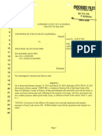 Second Amended Child Abuse/Torture/Endangerment/Lewd Acts Complaint Against Ina Rogers and Jonathan Allen of Fairfield, California