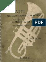 Gatti 3 Metodo Trompete Method Trumpet Cornetin Tromba Trompeta Sib