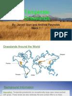 temperate grasslands biome project